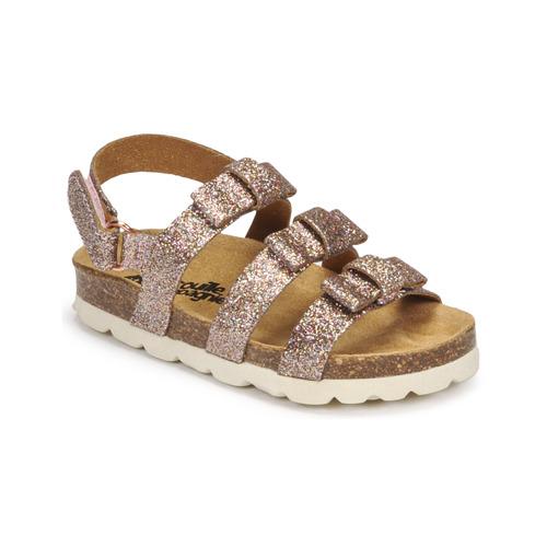 Shoes Girl Sandals Citrouille et Compagnie OLIA Multicoloured