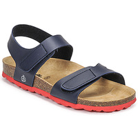 Shoes Boy Sandals Citrouille et Compagnie BELLI JOE Marine / Red