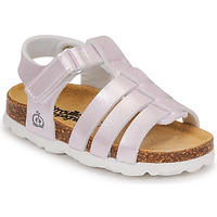 Shoes Girl Sandals Citrouille et Compagnie MALIA Champagne