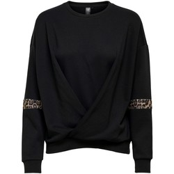 Clothing Women Sweaters Only Play SUDADERA MUJER  15219237 Black