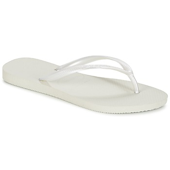 Shoes Women Flip flops Havaianas SLIM White