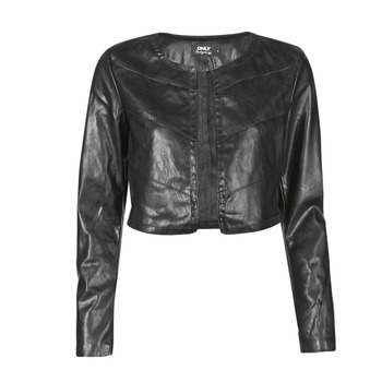 Clothing Women Leather jackets / Imitation leather Only ONLPEGGY Black