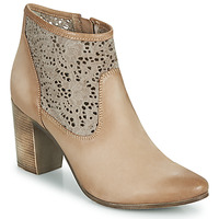 Shoes Women Ankle boots JB Martin DENTEL Beige