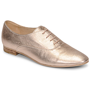 Shoes Women Brogues JB Martin CLAP Metal / Nude