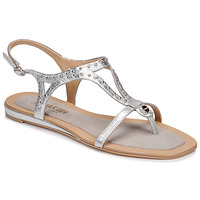 Shoes Women Sandals JB Martin ALANIS Metal / Silver