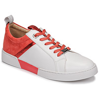 Shoes Women Low top trainers JB Martin GELATO White / Coral
