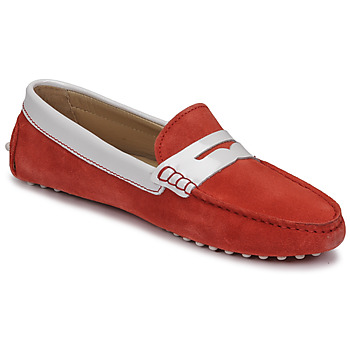 Shoes Women Loafers JB Martin TABATA Coral