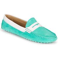 Shoes Women Loafers JB Martin TABATA Azure