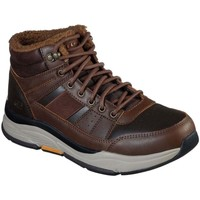 Shoes Men Mid boots Skechers Benago Voren Mens Casual Boots brown