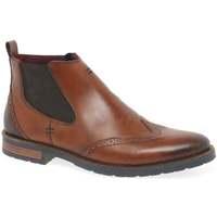 Shoes Men Mid boots Rieker Rushton Mens Chelsea Boots brown