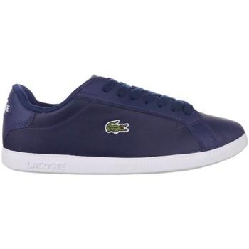 Shoes Women Low top trainers Lacoste Graduate BL 1 Sfa Navy blue