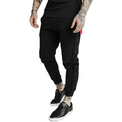 Clothing Men Tracksuit bottoms Siksilk  Black