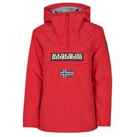Clothing Women Parkas Napapijri RAINFOREST WINTER Red
