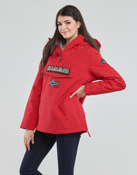 Clothing Women Parkas Napapijri RAINFOREST WINTER Red