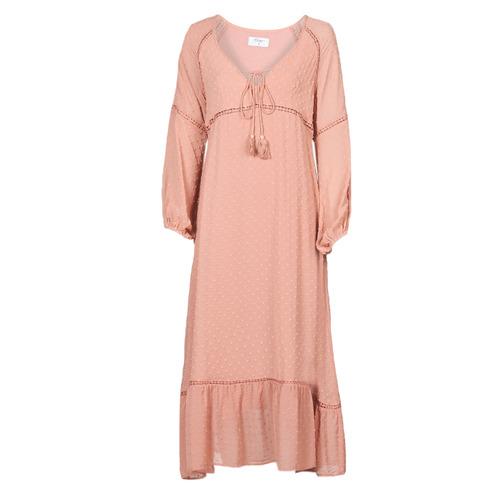 Clothing Women Long Dresses Betty London OFRI Pink