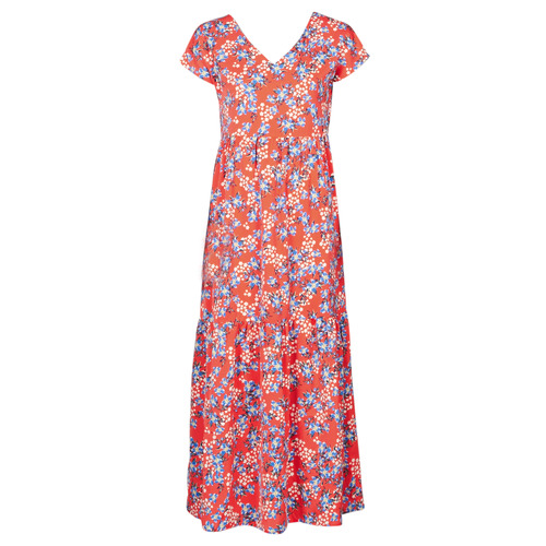 Clothing Women Long Dresses Betty London ODE Red / Multicolour
