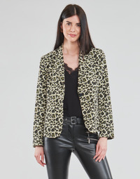 Clothing Women Jackets / Blazers Moony Mood OUPLA Brown
