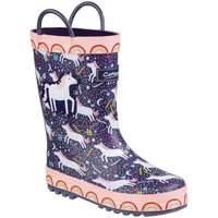 Shoes Boy Wellington boots Cotswold Sprinkle Childrens Wellingtons Multicolour