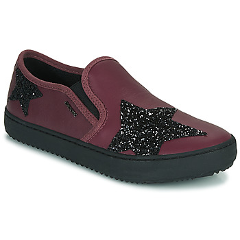 Shoes Girl Low top trainers Geox J KALISPERA FILLE Purple