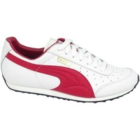 Shoes Children Low top trainers Puma Morpheaus JR White, Red