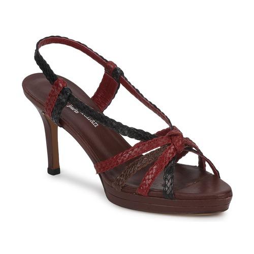 Shoes Women Sandals Stéphane Kelian PRISCILLE Brown / Bordeaux
