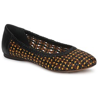 Shoes Women Flat shoes Stéphane Kelian WHITNEY Brown / Black