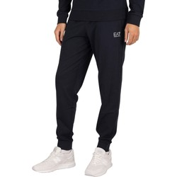 Clothing Men Tracksuit bottoms Emporio Armani EA7 Logo Joggers blue