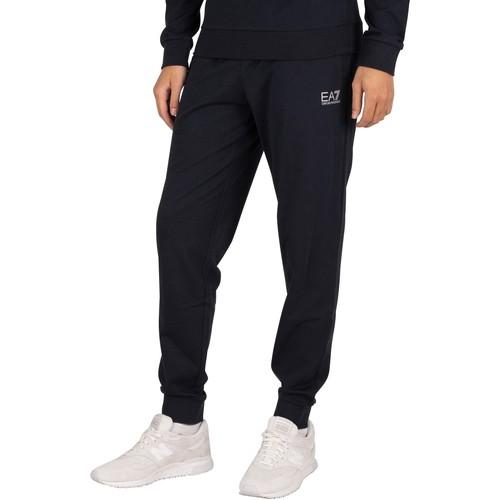 Clothing Men Tracksuit bottoms Emporio Armani EA7 Logo Joggers blue