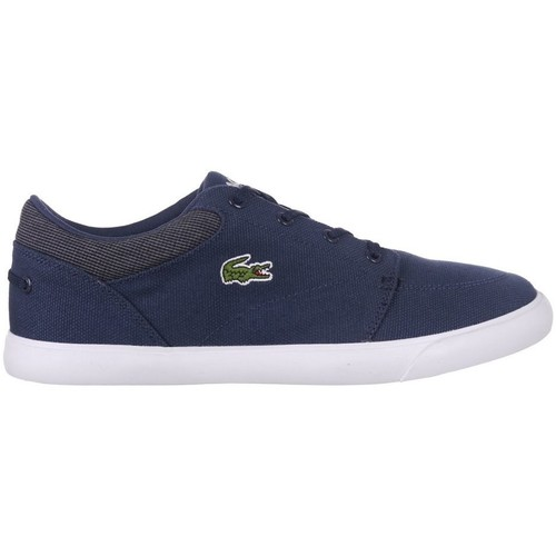 Shoes Men Low top trainers Lacoste Bayliss Navy blue