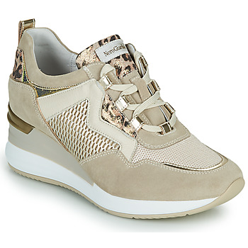 Shoes Women Low top trainers NeroGiardini DARKO Beige