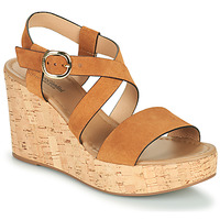 Shoes Women Sandals NeroGiardini JIPPO Cognac