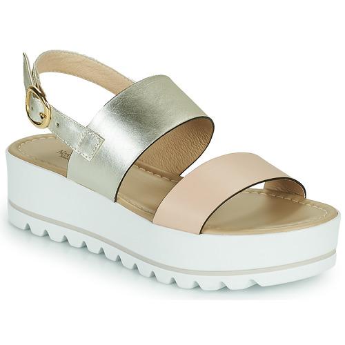 Shoes Women Sandals NeroGiardini SABRI White / Gold