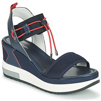 Shoes Women Sandals NeroGiardini CAMINO Marine / Red