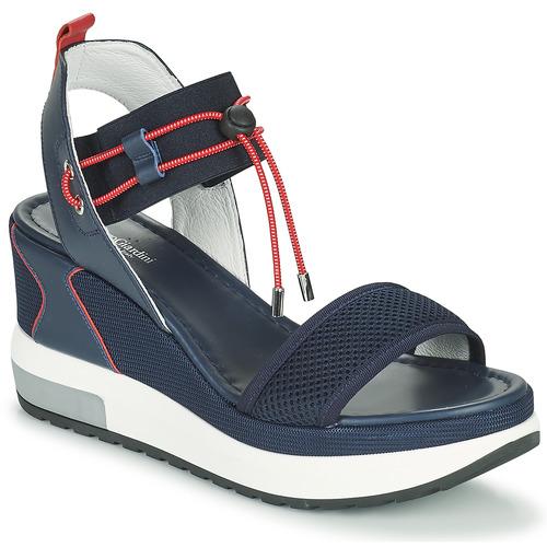 Shoes Women Sandals NeroGiardini CAMINO Marine / Red