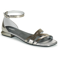 Shoes Women Sandals NeroGiardini TOMMA Silver