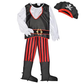 Clothing Boy Fancy Dress Fun Costumes COSTUME ENFANT PIRATE TOM Multicolour