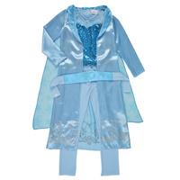 Clothing Girl Fancy Dress Fun Costumes COSTUME ENFANT PRINCESSE DES NEIGES Multicolour