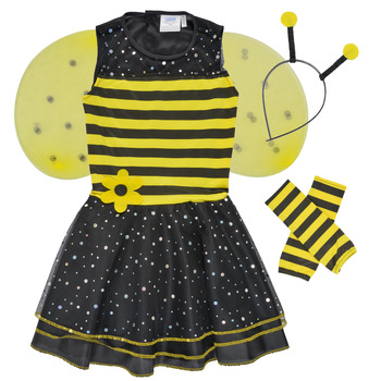 Clothing Girl Fancy Dress Fun Costumes COSTUME ENFANT BEE BEE Multicolour
