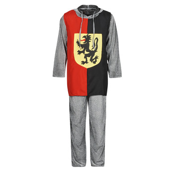 Clothing Men Fancy Dress Fun Costumes COSTUME ADULTE SIR GAWAIN Multicolour