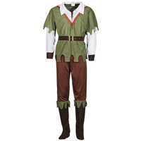 Clothing Men Fancy Dress Fun Costumes COSTUME ADULTE FOREST HUNTER Multicolour