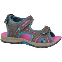 Shoes Children Sandals Merrell Panther Blue, Brown, Pink