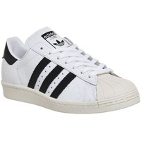 Shoes Women Low top trainers adidas Originals Superstar 80S White