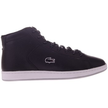 Shoes Women Hi top trainers Lacoste Carnaby Evo Mid Black