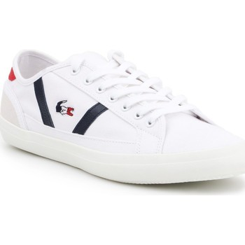 Shoes Men Low top trainers Lacoste Sideline 219 1 COU CMA 7-37CMA0029407 white