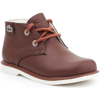Shoes Children Mid boots Lacoste Sherbrook HI SB SPC 7-30SPC201177T brown