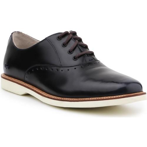 Shoes Women Derby Shoes Lacoste Rene Prep 2 SRW 7-28SRW1147120 black