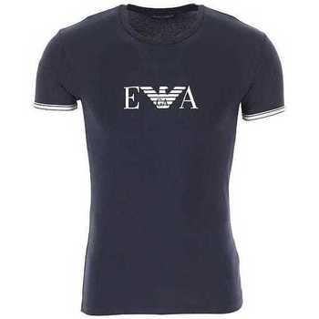 Clothing Men Short-sleeved t-shirts Armani 1110350P523_00135navyblue blue