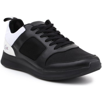 Shoes Men Low top trainers Lacoste Joggeur 217 2 G TRM 7-33TRM1005312 black, white