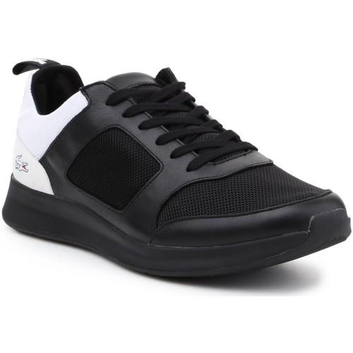 Shoes Men Low top trainers Lacoste Joggeur 217 2 G TRM 7-33TRM1005312 black, white