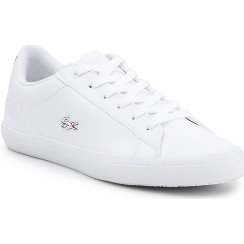 Shoes Women Low top trainers Lacoste Lerond 118 1 QSP CAW 7-35CAW0093001 white